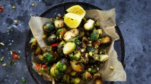 Brussels sprouts are a delicious and healthy way to add more fibre to a gluten-free diet.
