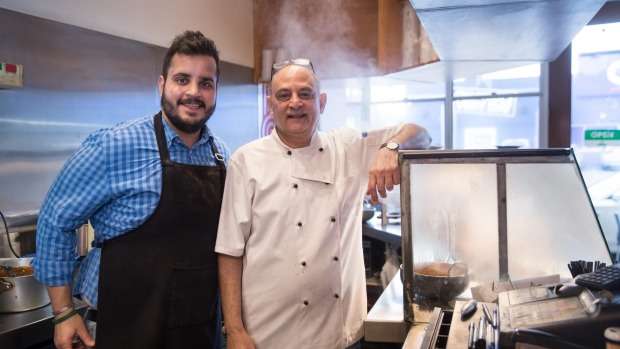 Front-of-house Anuj Tandon and his chef father Anand run Spice Pantry.