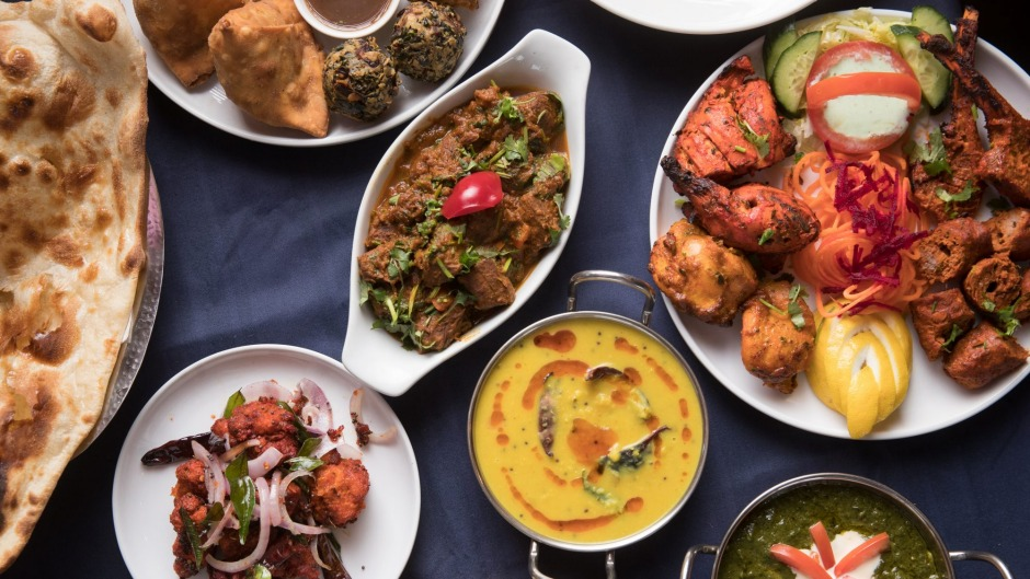 A selection of dishes at Spice Pantry.