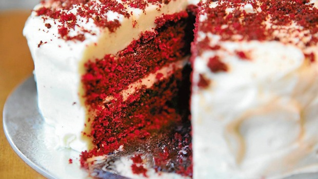 Red velvet cake originated in the US more than 100 years ago.