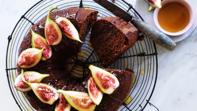 Helen Goh's honey cake gets better with age.