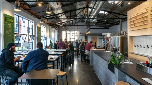 Fixation Brewing Company's new Collingwood venue, The Incubator.
