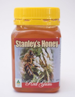 Stanley's Honey red gum honey.
