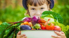 Most Australian children are not getting the recommended daily intake of fruit and vegetables.