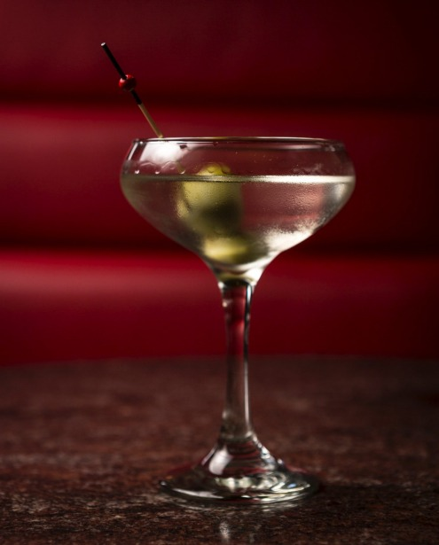 The Martini at Bar Romantica.