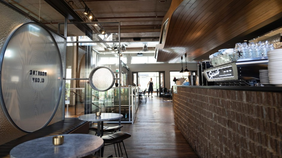 Restaurant Morning Glory has just opened up in New Acton
