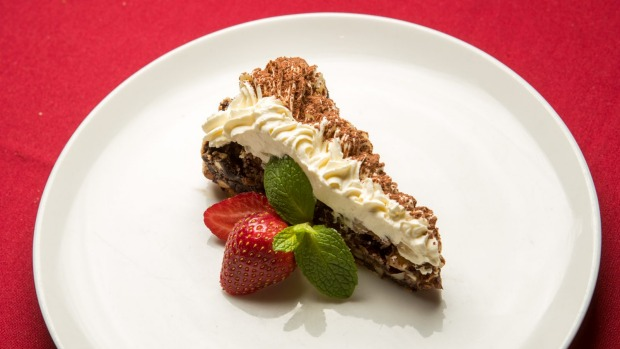 The cake recipes were settled on close to three decades ago. (Pictured: Chocolate cake a la mode)