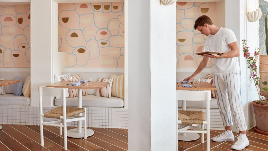 A multi-million dollar overhaul has given Rae's on Wategos, Byron Bay, a 'contemporary beach house luxe' aesthetic.