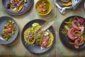 Mexican vibe: Tacos at Chupacabra in Byron Bay.