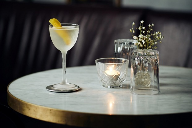 Twist and shout: the classic martini served The Mayfair.