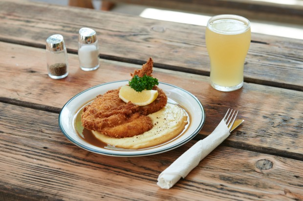 A pub schnitzel that sets a national standard at The Unicorn.