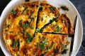 Helen Goh's roasted asparagus and crab quiche recipe.