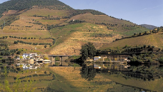 Reflections in the Douro River.