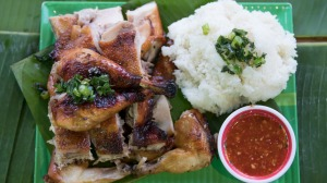 Must order dish: Grilled chicken with sticky rice.