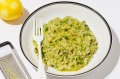 Step up your vego risotto game with this broccoli, lemon and mint version.