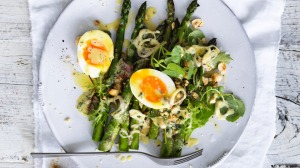 Andrew McConnell's spring salad for brunch or lunch.