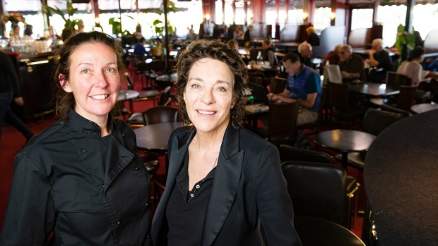 Tilley's chef Melissa Hanns and owner Paulie Higgisson.
