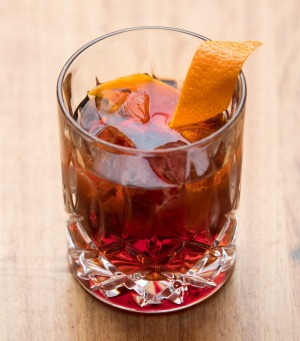 Dark negroni, from a list of five.