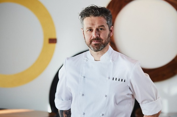 Vittoria Coffee Restaurant of the Year: Restaurant Orana, South Australia. (Pictured: Chef Jock Zonfrillo.)