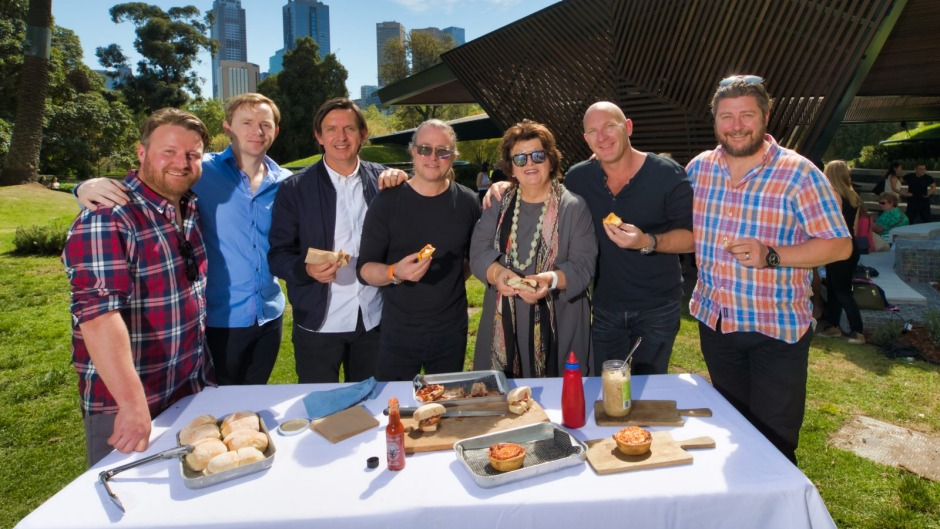 Chefs Matt Wilkinson, Phil Wood, Andrew McConnell, Neil Perry, Alla Wolf-Tasker, Matt Moran and Scott Pickett discuss ...
