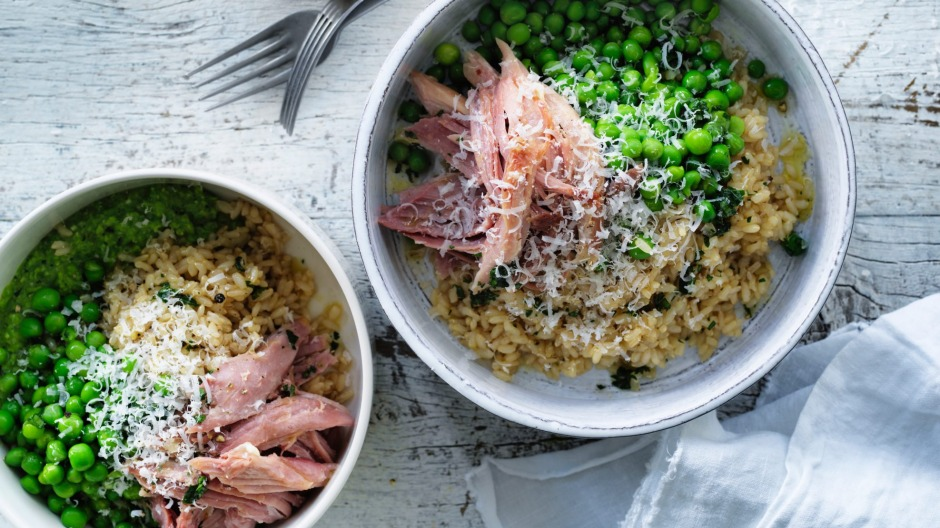 Step aside green eggs and ham, hello green peas and ham.