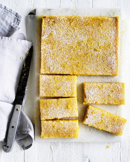 Slice of sunshine: Jill Dupleix's old-school lemon bars <a ...