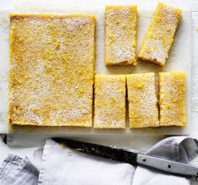 Jill Dupleix's old-school lemon bars recipe.