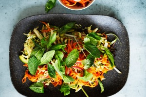 Asian-style coleslaw.