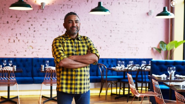 Jessi Singh in the new Surry Hills venue.