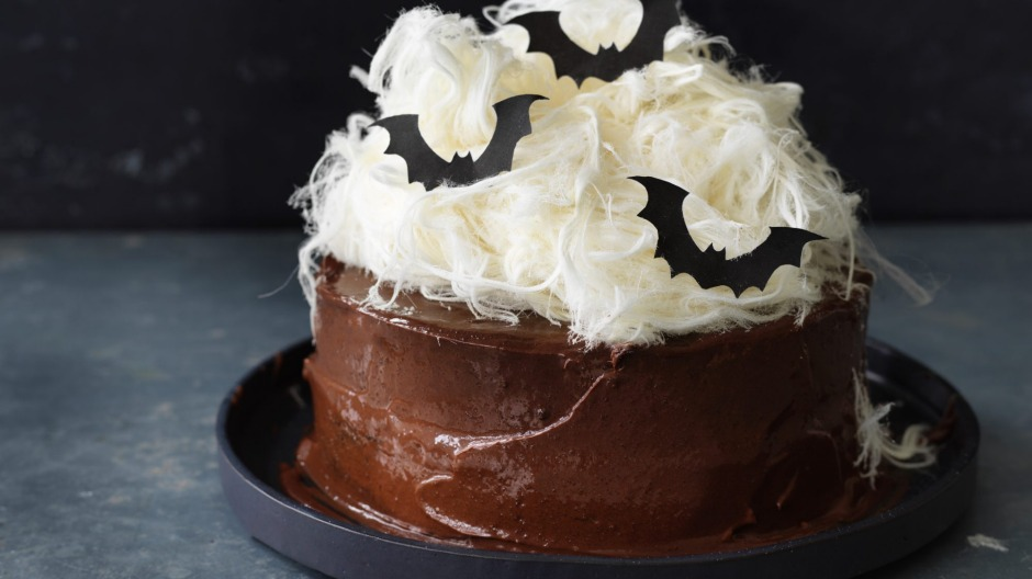 Helen Goh's devilish chocolate cake.