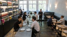 Swanston Street's mod barbecue joint, Cheek