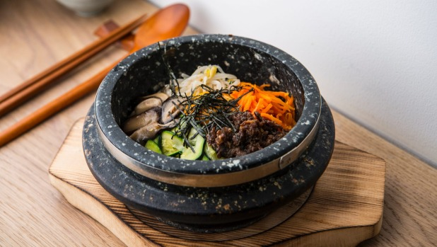 On song: Dolsot bibimbap
