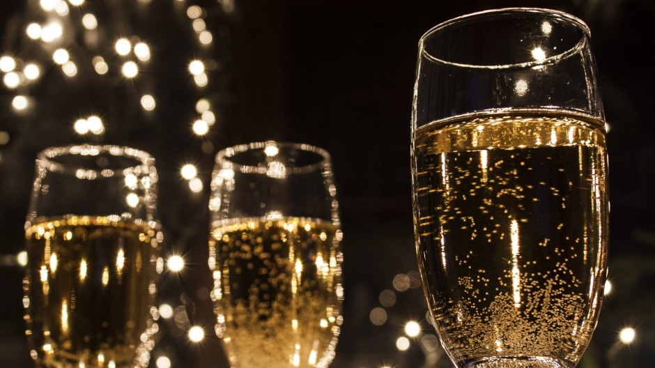 A glittering glass of fizz suits all sorts of occasions.