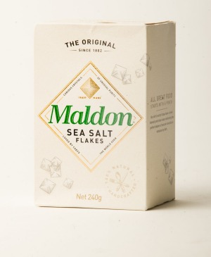 Maldon sea salt flakes.
