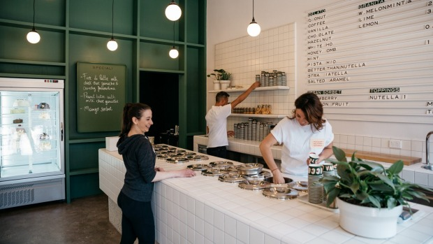 Piccolina Gelateria shares a resemblance to its Collingwood and Hawthorn siblings.
