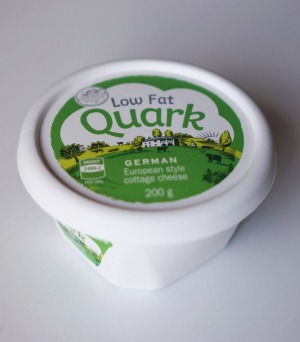 Aldi low-fat quark.