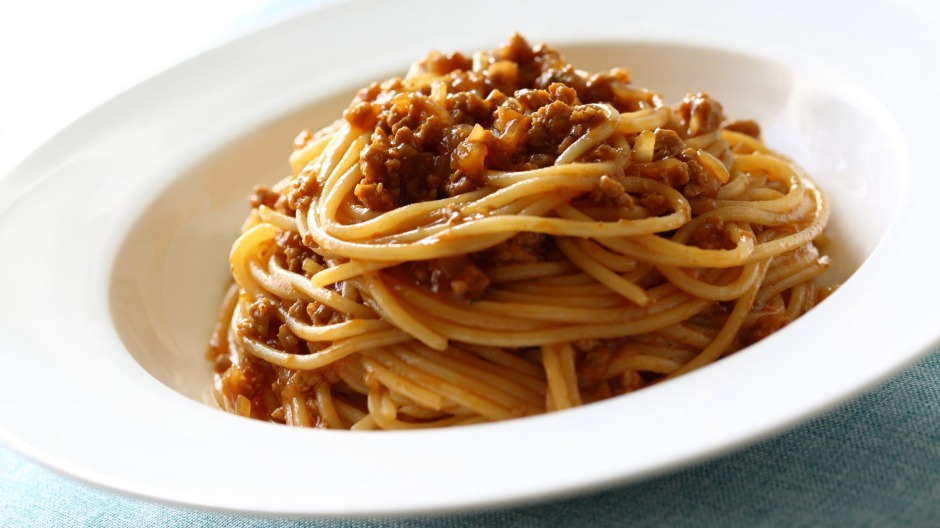 Adding a little milk to bolognese gives the perception of a smoother sauce.