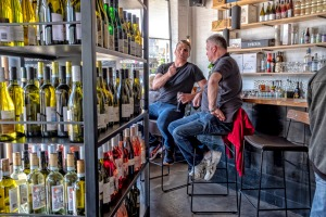 Straight shooter: Inside Luxsmith Bar in Seddon.