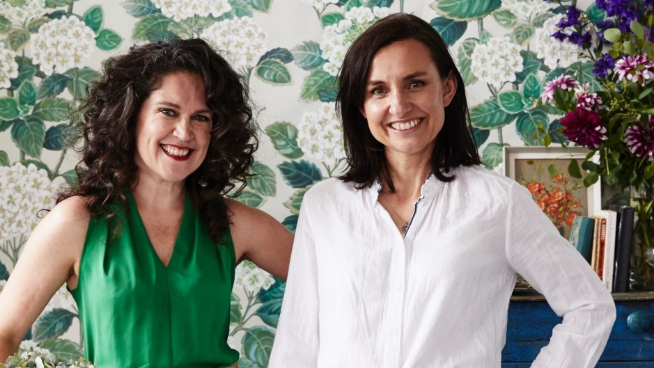 Annabel Crabb and her friend Wendy Sharpe are back in the kitchen with their latest book.