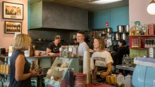 The retro cafe is a St Kilda institution.