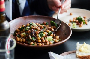 Bar Lourinha's signature spiced chickpeas and spinach from Eat at the Bar.