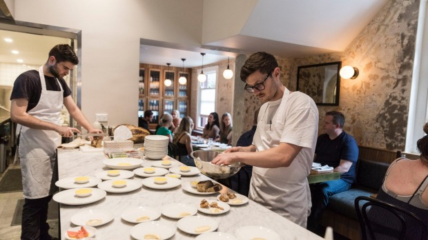 Chef Tristan Rosier at the Surry Hills venue.