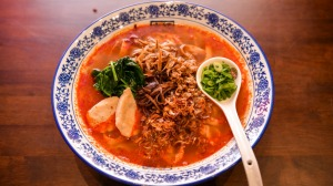 Go to dish: the pan mee in hot and sour soup