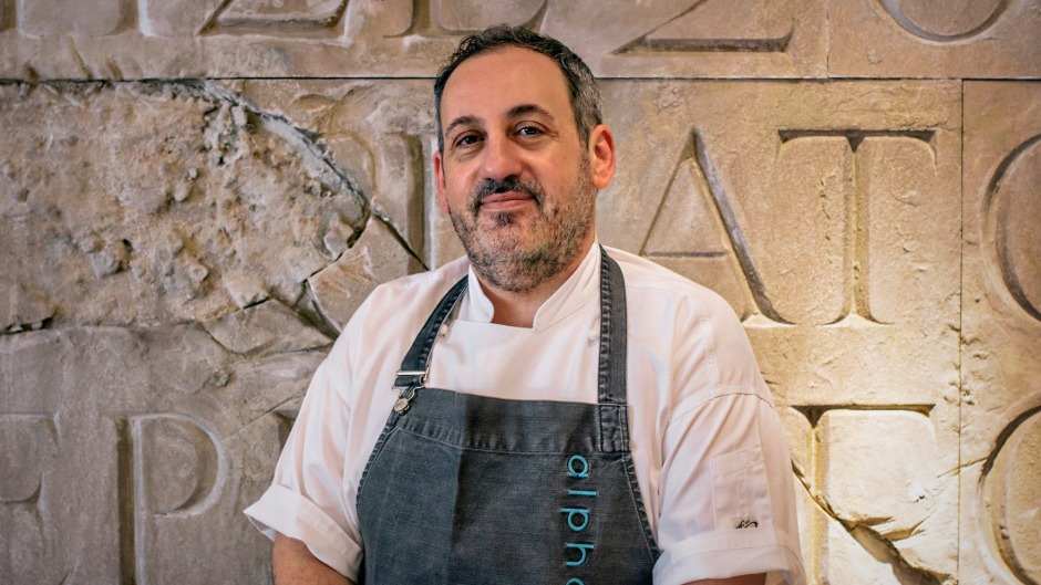 The Greek-Australian chef behind Alpha is opening a new restaurant on the water's edge.