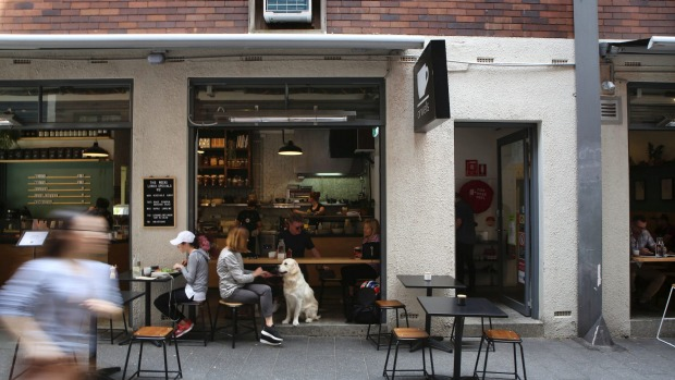 The venue in Orwell Street, Potts Point.
