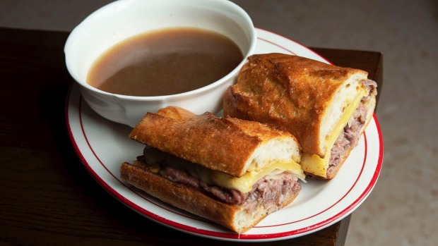 The French dip dish.