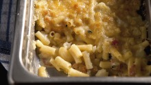 Macaroni cheese is among the dishes astronauts eat in space.