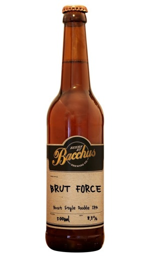Bacchus Brewing Brut Force.