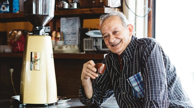 Sisto Malaspina, co-owner of Pellegrini's, who passed away on November 9.