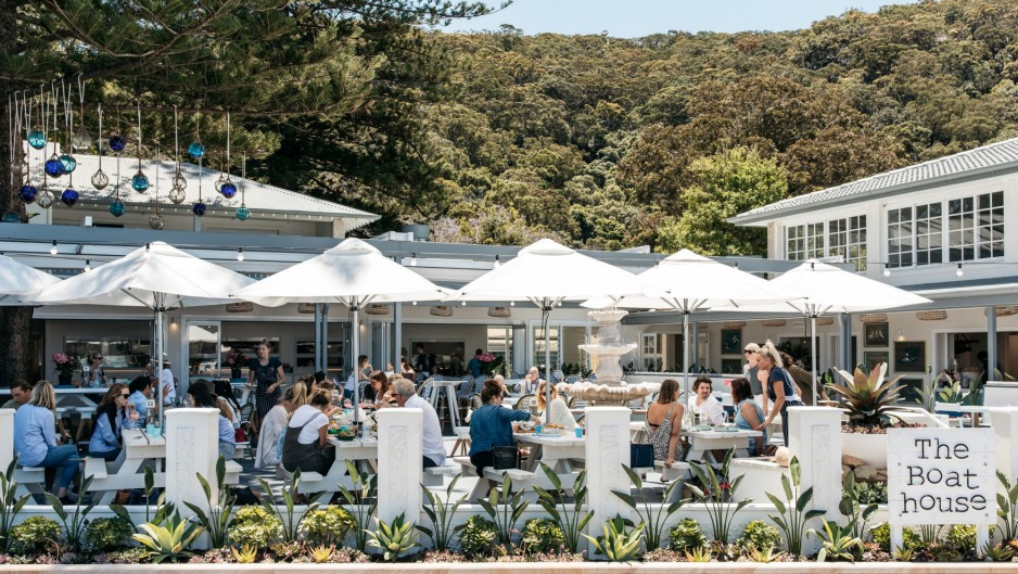 The Boathouse Hotel in Patonga.
